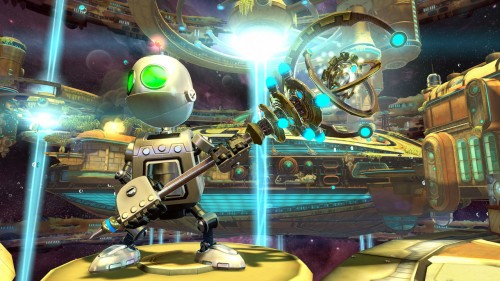 ... a complete and detailed universe (the Ratchet & Clank universe), ...