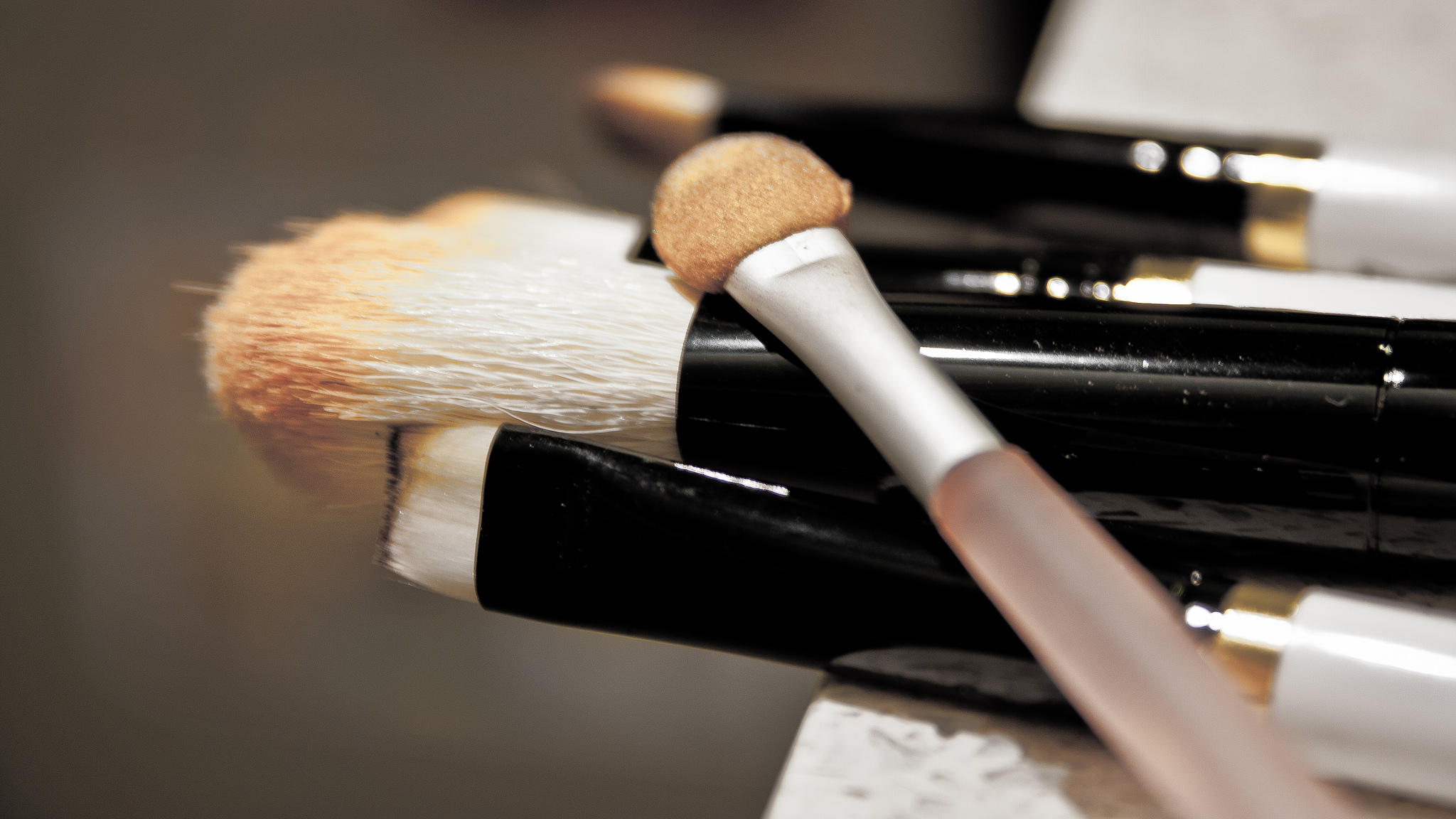 Makeup brushes by Natasia Causse