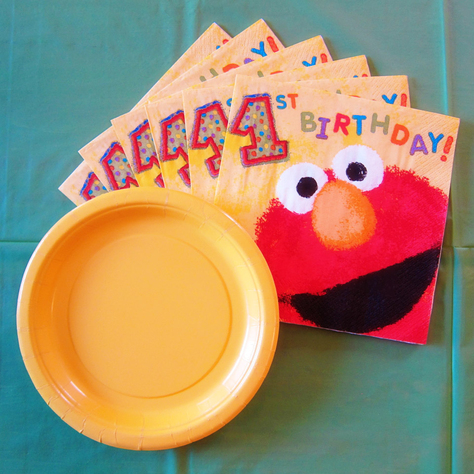 1st Birthday Napkins