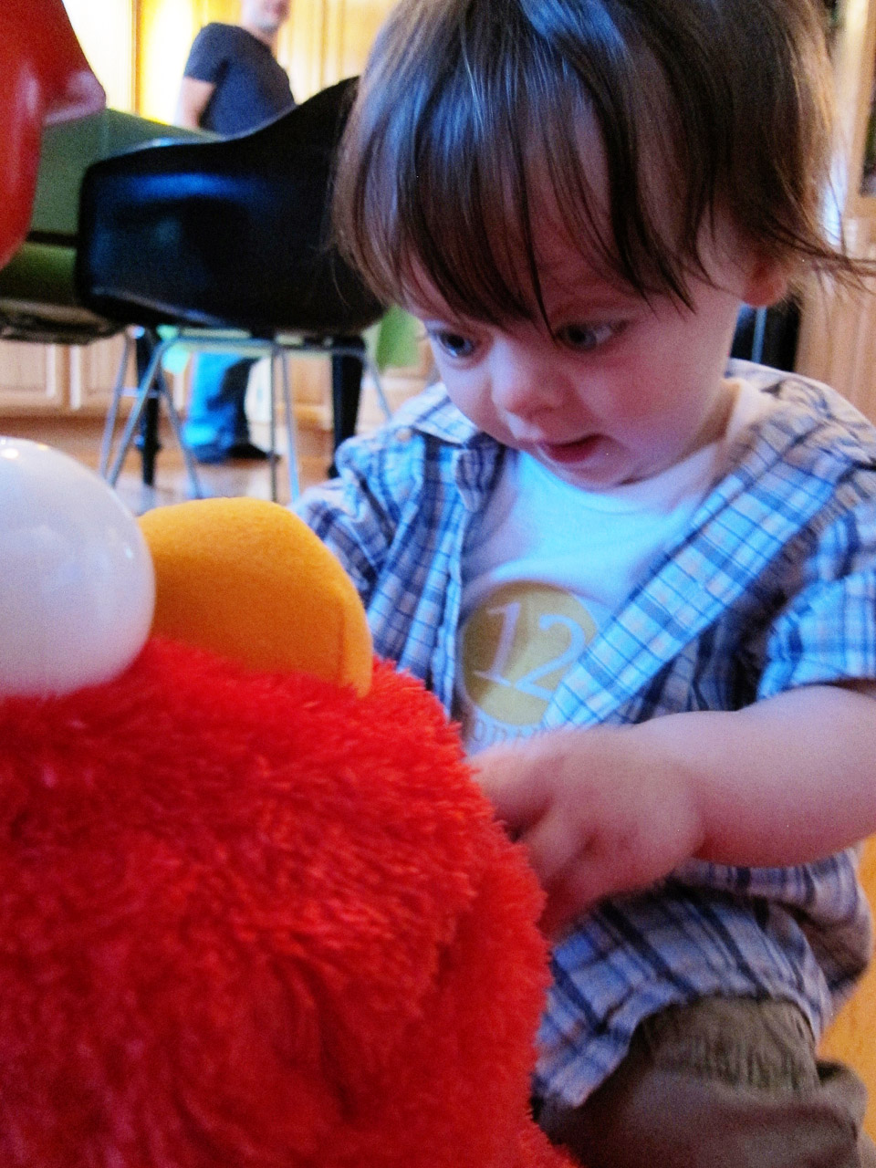 Boo Boo and Elmo