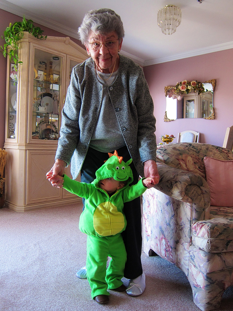 Boo Boo the dragon and Auntie Dorothy