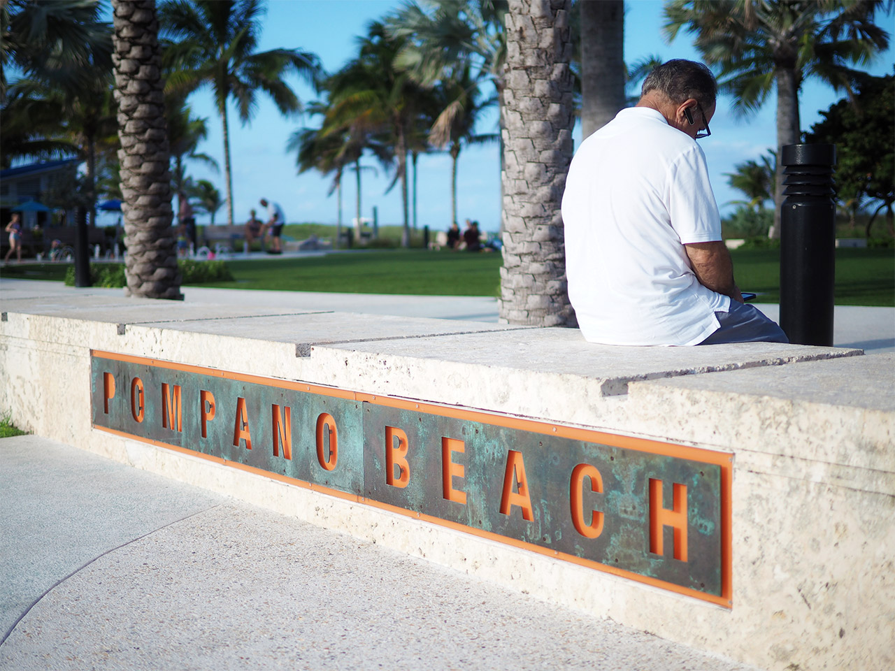 The Pompano Beach Boardwalk