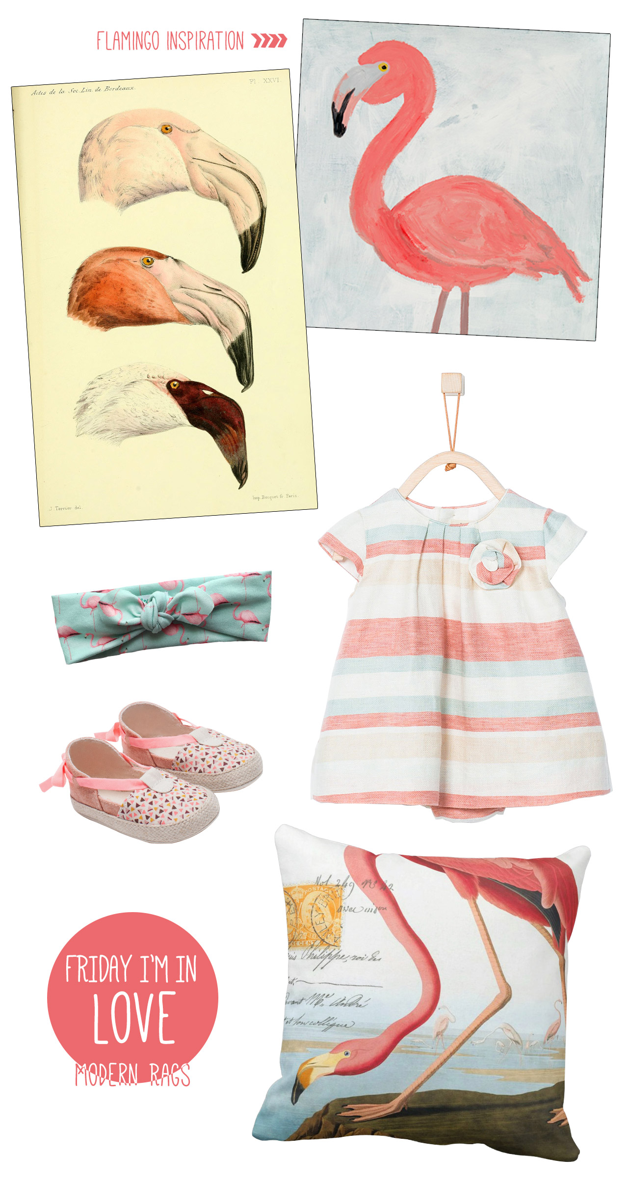 Friday I'm in Love: Flamingos