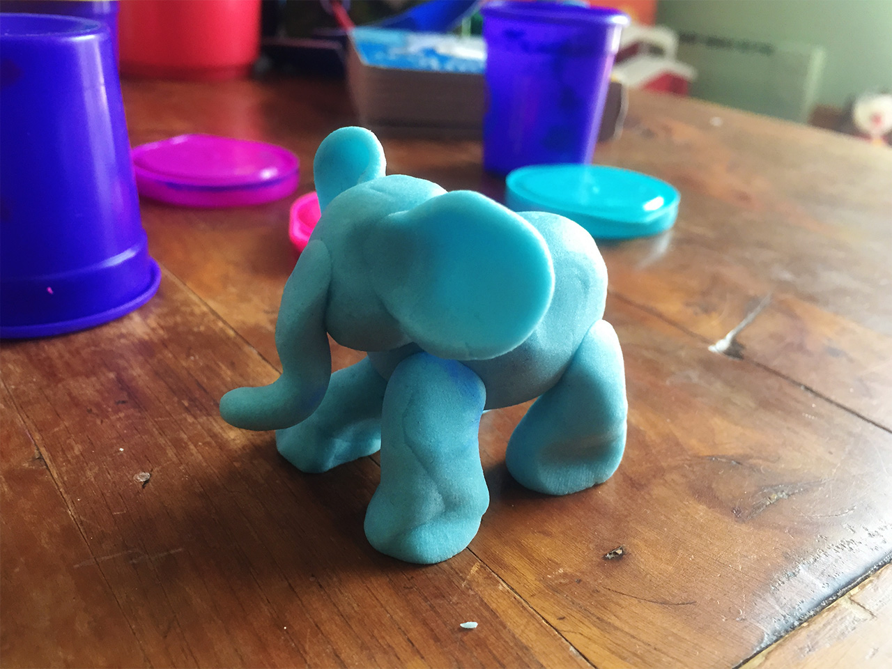 Mama's Play-Doh Elephant